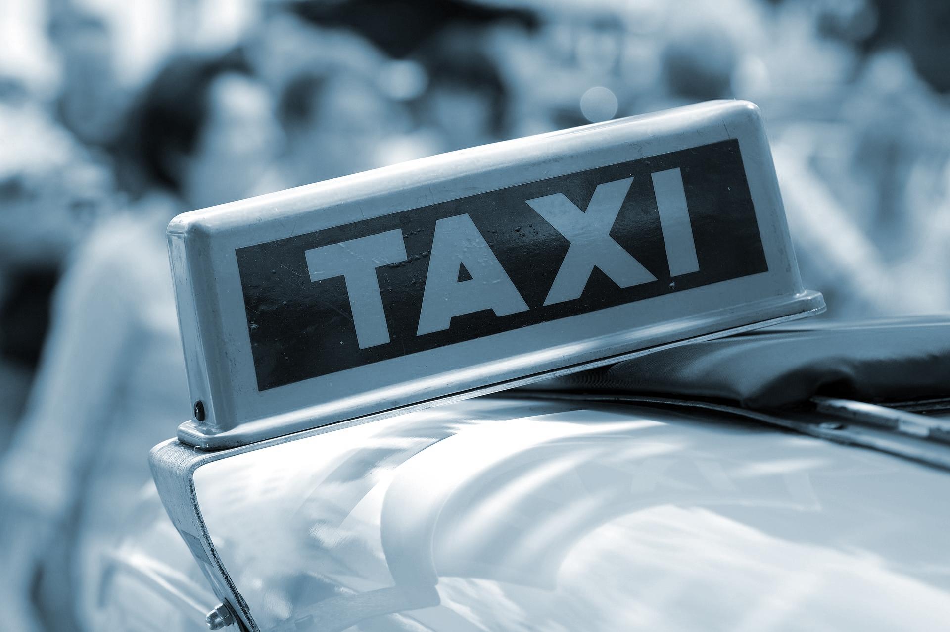 Taxi op tijd
